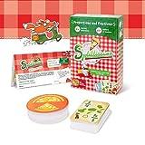 Juegos de mesa de pizza para niños de 6 años en adelante - Juegos de mesa de proporciones y fracciones para niños y familia