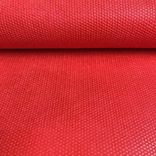 LAS TELAS ... Pack TNT Colores 3Mtrs, Tejido sin Tejer, Tejido no Tejido, Tejido para Ropa Desechable Médica. Ancho 0,80 Mtr. 70Grms. (Rojo)