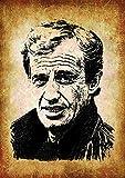 Filmposter, Motiv: Hollywood-Schauspieler, Jean-Paul