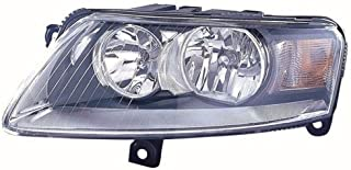 Go-Parts OE Replacement for 2006 - 2010 Audi A6 Front Headlight Assembly Housing / Lens / Cover - Left (Driver) Side - (4 Door; Sedan) 4F0 941 003 DN AU2502131 Replacement For Audi A6