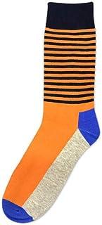 Calcetines De Hombre Los Mejores Calcetines Deportivos Rayas Casuales Tamaño: Tamaño Grande (41 Yardas - 46 Yardas) Tubos De Algodón Para Hombres Calcetines C 2 Pares