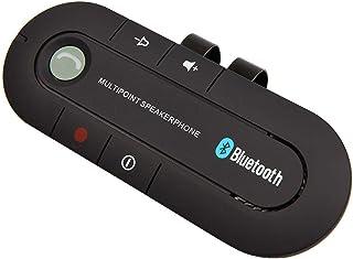 Sun Visor BT Speakerphone MP3 Music Player Wireless Receiver Speaker Car Charger