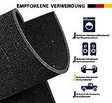 Antivibrationsmatte für Waschmaschine oder Trockner,Lautsprecher usw, 60x60x0.5 cm Antirutschmatte,Zuschneidbar,Verschleißfestes und umweltfreundliches Gummimaterial