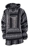 Yankee Forge Large Baja Shirt - Black & White Stripe -...
