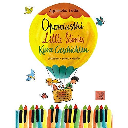 Agnieszka Lasko-Little Stories-Klavier-BOOK