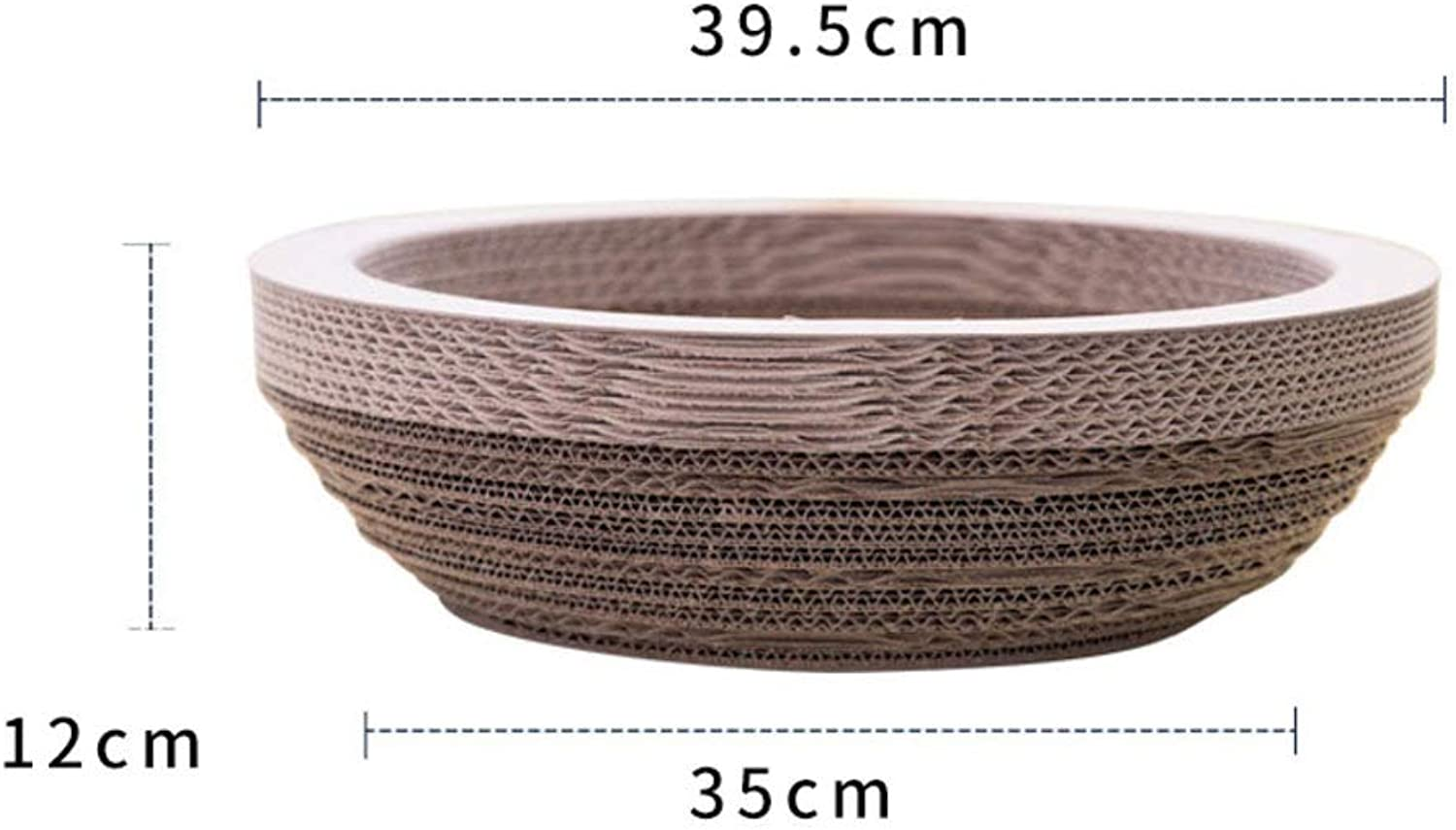 Cat Scratch Board Bowl Type Corrugated Paper Cat Scratch pad Cat Toy B