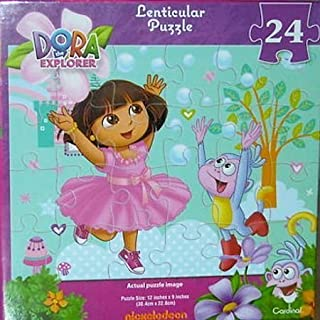 Dora The Explorer Lenticular Puzzle - 24 Pieces