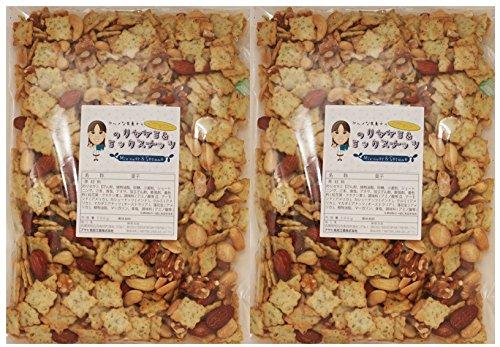 グルメな栄養士の のりセサミ&ミックスナッツ  1kg(500g×2袋)