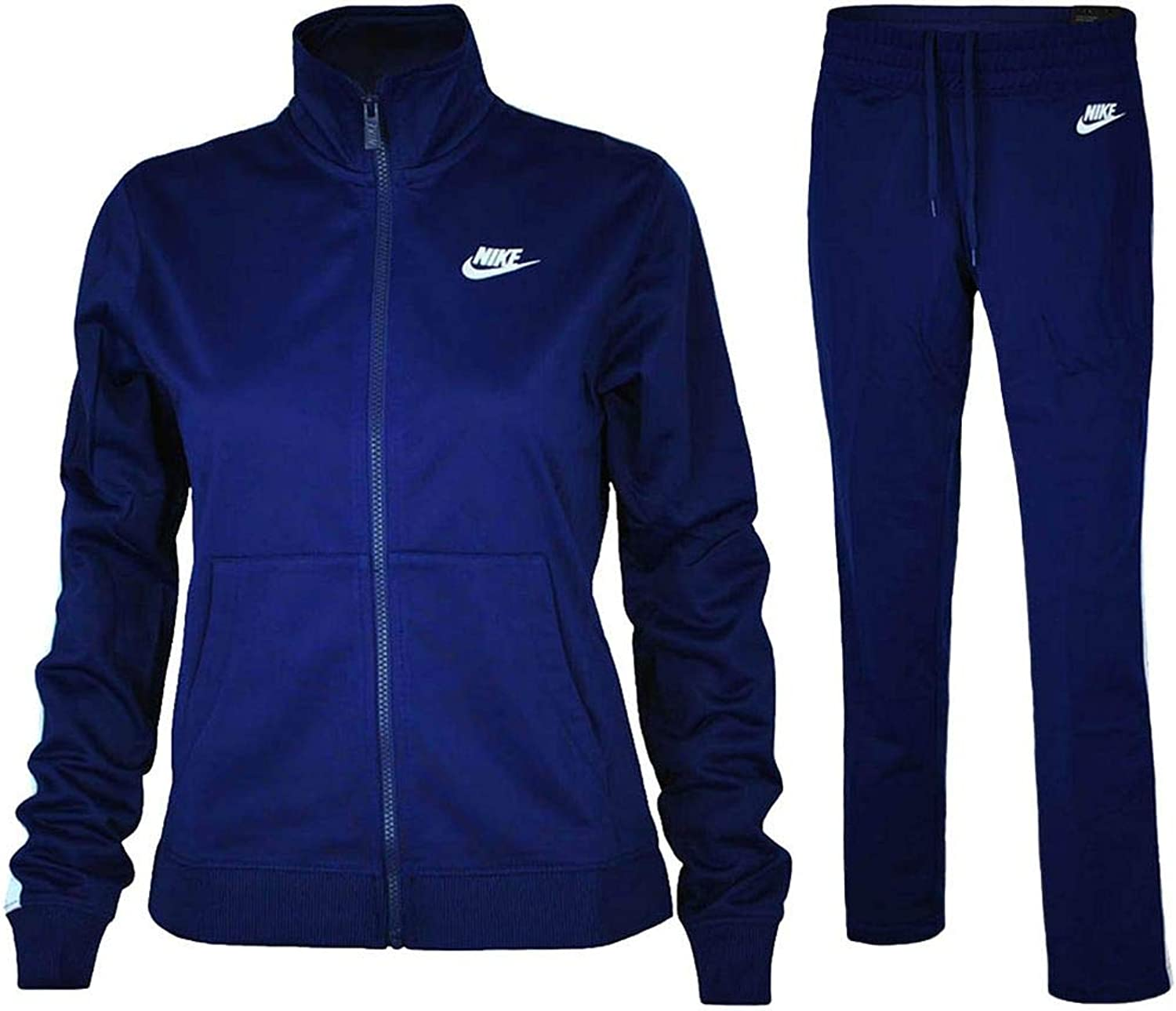 Nike NSW PK OH Tracksuit Women's Sport Track suit Navy White, Sizes M