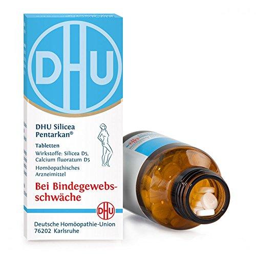 DHU Silicea Pentarkan Tabletten bei Bindegewebsschwäche, 80 St. Tabletten