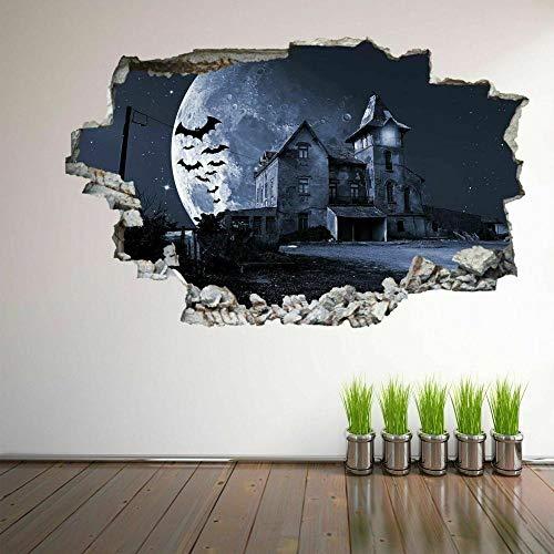 MXLYR Pegatinas de pared Cartel de la etiqueta engomada del mural de la etiqueta engomada del arte de la pared 3D