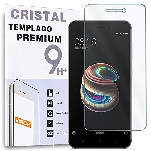Protector de Pantalla para XIAOMI REDMI 5A, Cristal Vidrio Templado Premium