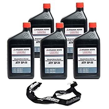 Genuine Compatible with Mitsubishi Transmission Fluid Diaqueen ATF ACD SP III SPIII 5 Quarts
