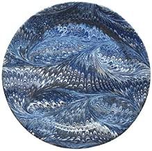 Juliska Firenze Marbleized Delft Blue Dessert - Salad Plate