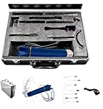 Lift Wand Professional High Frequency Machine Includes 7 Electrodes, Roller and Alumimum Case, Anti...