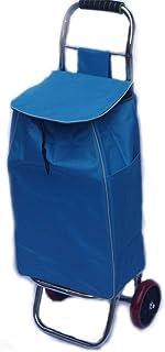 LQBDJPYS Shopping Trolley Stainless Steel Folding Small Hand Trailer Luggage Cart Waterproof Storage Bag Folding Luggage B...