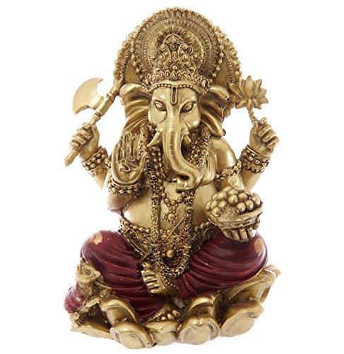 bick.shop Ganesha Statue Hinduismus Buddha buddafigur Indien Buddhismus indische ganescha Figur TOP