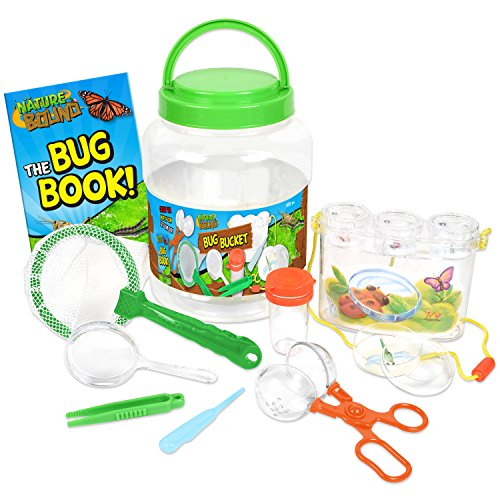 Nature Bound Bug Catcher with Habitat Bucket and 7 Piece Nature Exploration Set