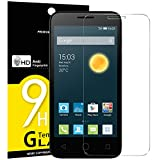 NEW'C Verre Trempé pour Alcatel One Touch Pixi 3 (4.5), Film Protection écran - Anti Rayures - sans Bulles d'air -Ultra...