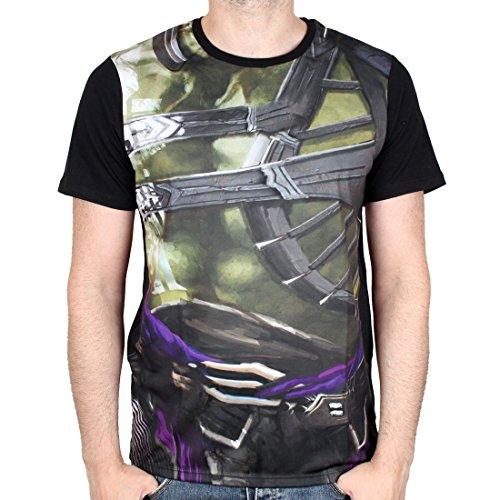 Marvel Comics Thor Ragnarok Herren T-Shirt - Hulk Costume (Multicolor) (S-XL) (XL)