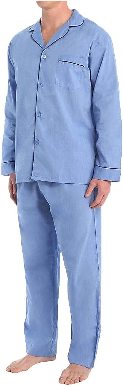 Hanes Men's Broadcloth Pajama Set