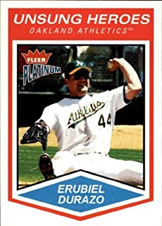 2004 Fleer Platinum #174 Erubiel Durazo UH MLB Baseball Trading Card