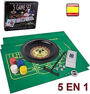 Amazon.es: ruleta - Juegos y accesorios: Juguetes y juegos