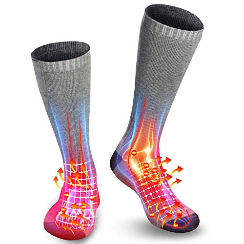 QILOVE Extra Warm Rechargeable Battery Heated Socks