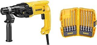 Dewalt D25033K-GB D25033K SDS+ Hammer 2kg 3 Mode 22mm 240V, 710 W, 240 V, Black/Yellow, 240 Volt & DT7935B-QZ Hammer Drill...