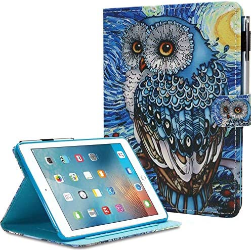 MonsDirect iPad 8th 7th Generation 10 2 inch Case with Pencil Holder 2020 2019 PU Leather Smart product image