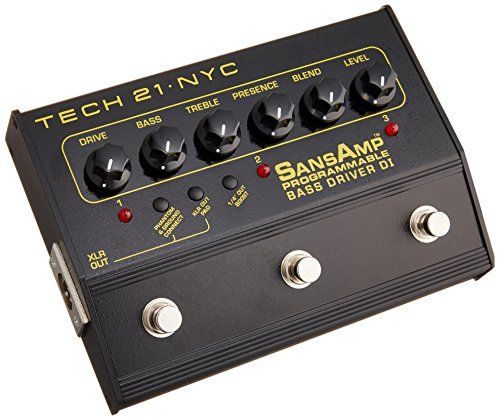 Tech 21 PBDR SansAmp Programmable Bass Driver DI Review