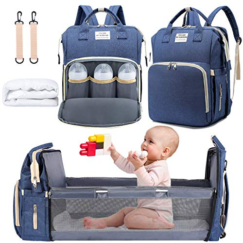 3 in 1 Diaper Bag Backpack with Changing Station, NIUTA 2021 Travel...