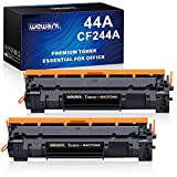 Wewant Toner 44A CF244A Reemplazo para HP 44A CF244A Cartucho de Tóner Compatible con HP LaserJet Pro M15a M15w MFP M28a MFP M28w, 2 Negro