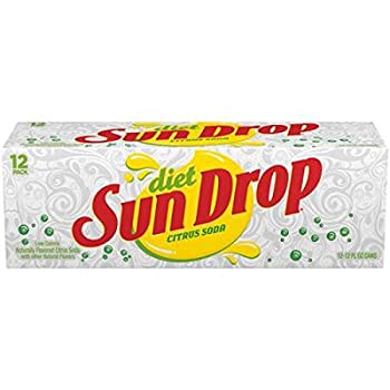 Diet Sundrop Soda 12 oz Can  Pack of 12