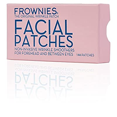 Frownies Forehead and Eyes 144 Facial Anti Wrinkle Patches. Original Wrinkle Smoothers Since 1889 by Frownies