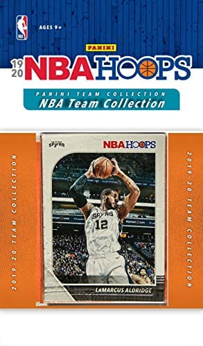 San Antonio Spurs 2019 2020 Hoops Factory Sealed 10 Card Team Set with Lamarcus Aldridge and product image