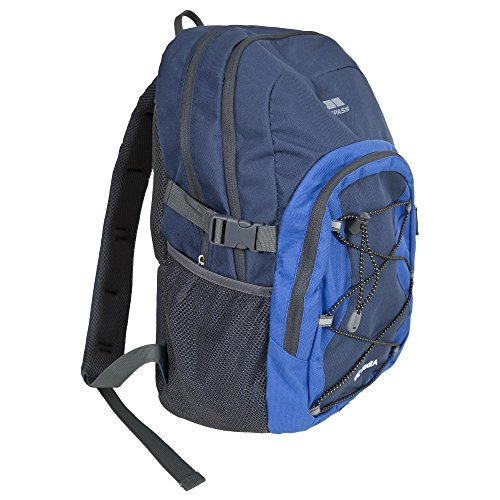Trespass Albus 30 Litre Casual Rucksack/Backpack (One Size) (Electric Blue)