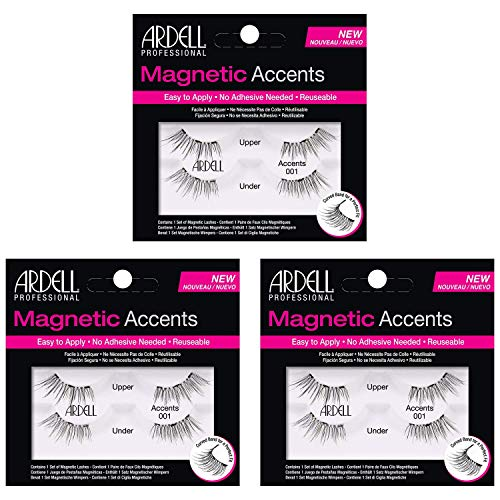 Ardell Magnetic Lashes Accents 001 (3-pairs)