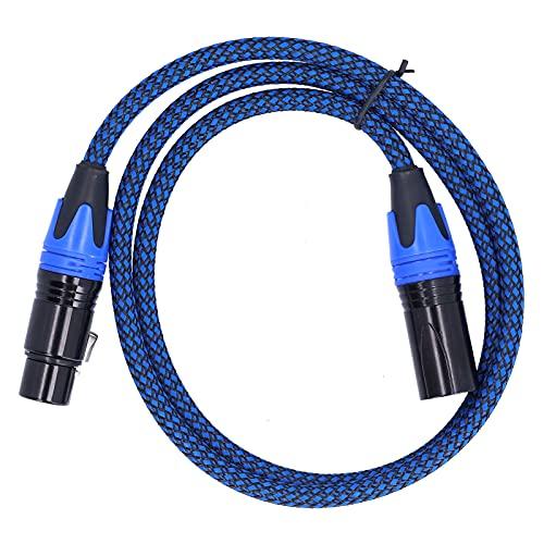 Línea de micrófono, cable XLR Conector de audio macho a hembra para...