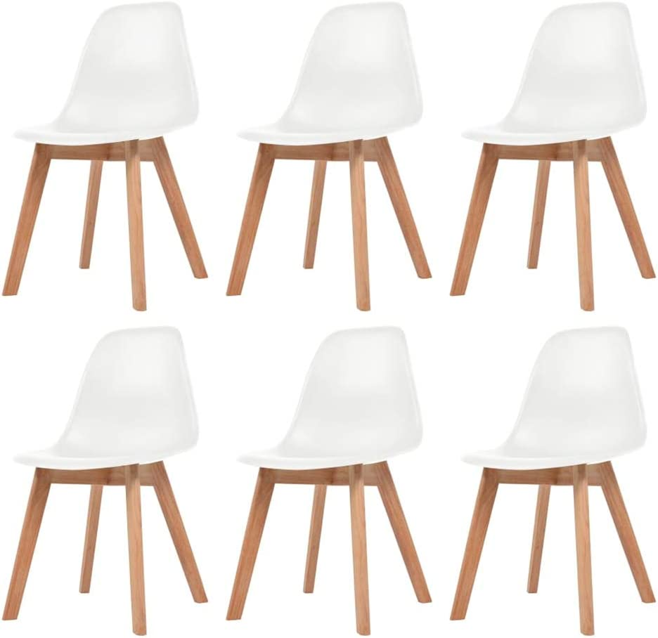 Dining Chairs Set Plastic Max 72% Mail order cheap OFF for Indoo Rubberwood and