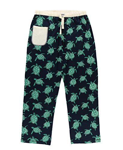 Lazy One Pajamas for Women, Cute Pajama Pants and Top Separates, Turtley Awesome, Turtles, Ocean, Sea, Animal