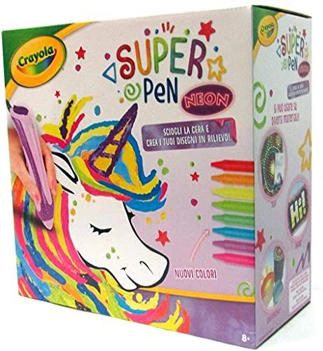 SUPER PEN Crayola Unicornio Neon 25-0505 - 1 unidad