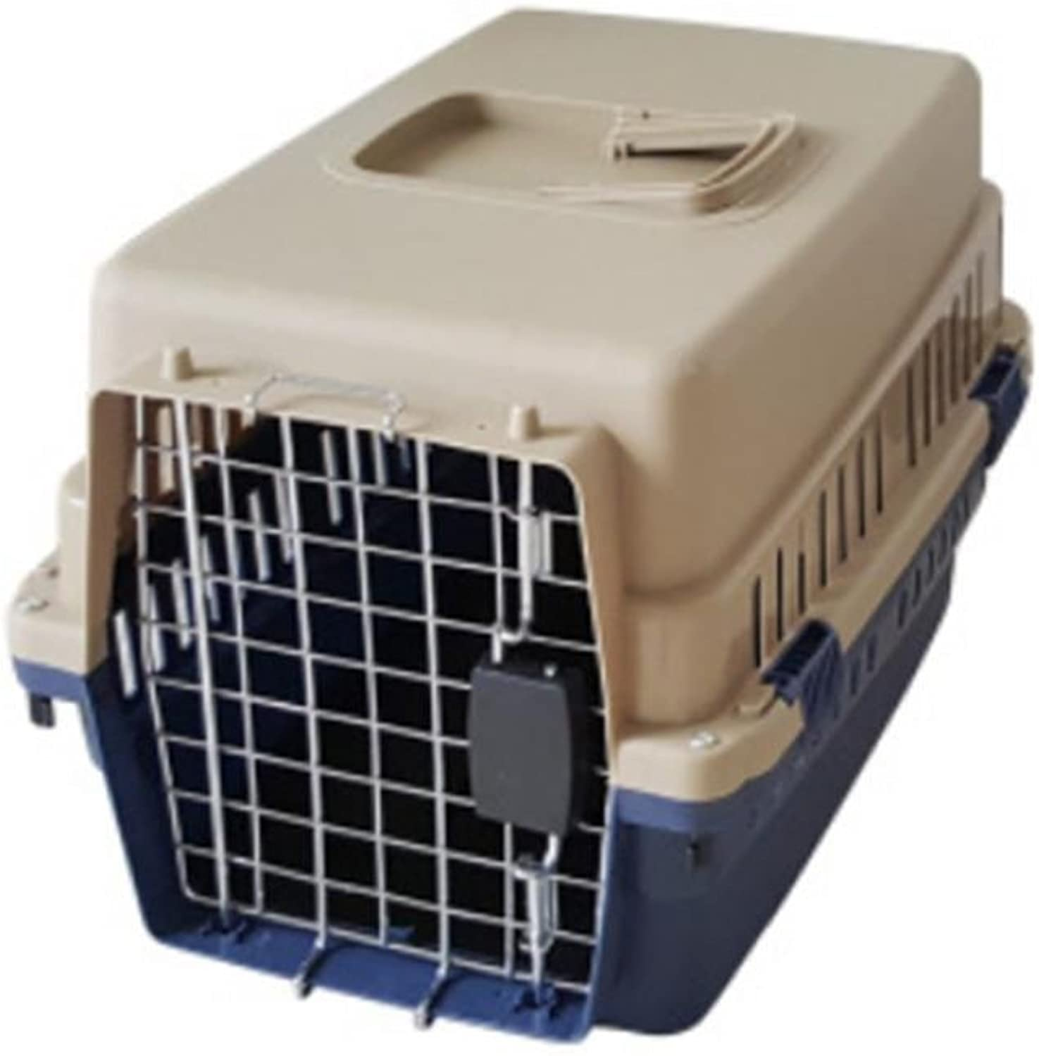 OOFWY Pet Box   Cat And Dog Dedicated Aviation Box   Portable Travel Box  Pet Nest   Quality PVC Resin Material , B1