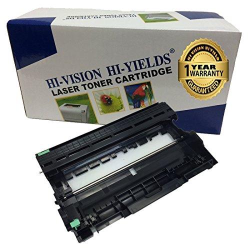 HI-VISION HI-YIELDS Compatible (12,000 Page) Dell 593-BBKE (WRX5T) Imaging Drum Unit Replacement for E310DW, E514DW, E515DN, E515DW (1 Pack)