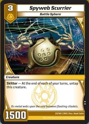 Kaijudo TCG - Spyweb Scurrier (25) - Rise of the Duel Masters by Kaijudo: Rise of the Duel Masters