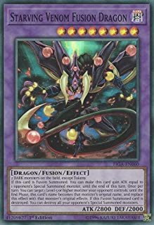 Yu-Gi-Oh! - Starving Venom Fusion Dragon - FIGA-EN060 - Super Rare - 1st Edition - Fists of The Gadgets