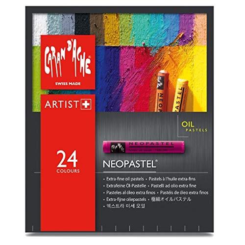 Caran d'Ache - Pastelli ad olio extra fine 24 7400-324 (japan import)
