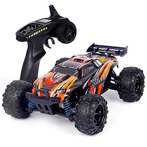 BSQS1 RC Car 1:18 Full Proportion Professional Remote Control Car 4WD All Terrain Off-Road Vehicle 40Km/h 2.4GHz High Speed Racing Car RC Monster Truck Electric Toy Car for All Adults & Kids