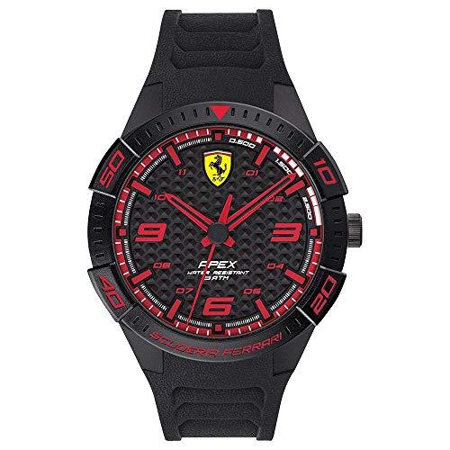 Scuderia Ferrari Reloj Analógico para Hombre de Cuarzo con Correa en Silicona 0830662