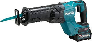 Makita JR001GD202 40V Max XGT Brushless Reciprocating Saw Complete with 2 x 2.5 Ah Batteries, Fast Charger and Interchange...